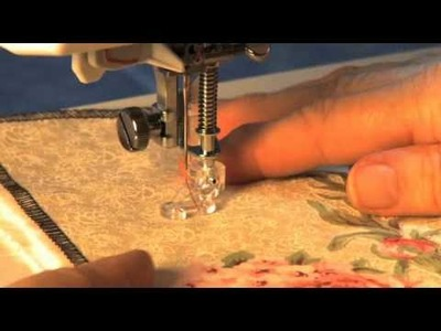 Janome Open Toe Quilt Set High Shank Video Using The Free Motion Foot