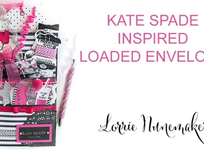 KATE SPADE INSPIRED LOADED ENVELOPE - GIVEAWAY. NOW CLOSED