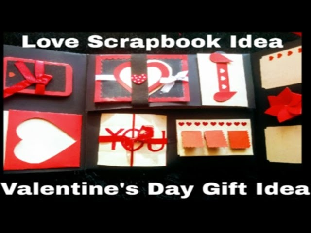 Love Scrapbook ❤❤ Valentine's Day Gift Idea | DIY Gift Ideas