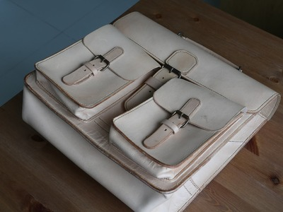 Making a large satchel - Part 4 - Strap and Gusset