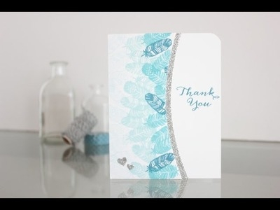 Ombre card with Wplus9