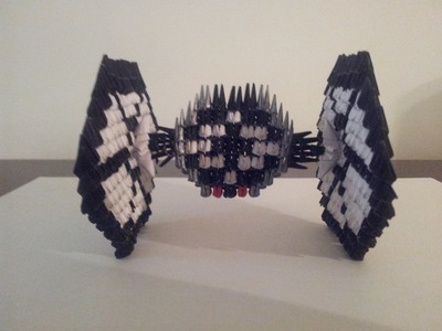 ORIGAMI 3D Tutorial Tie Fighter ( STAR WARS )