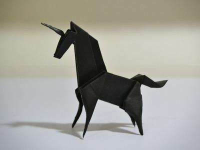 Origami: Unicorn (Jo Nakashima) - Instructions in English (BR)