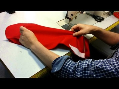 Pre-cut Jacket part 8a: sleeve with vent