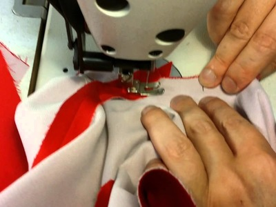 Pre-cut Jacket part 9: attaching the sleeve