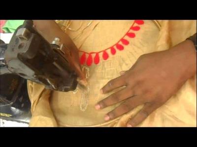 Salwar Kameez Neck Design.Front Neck Design Pattern.Suits Stitching
