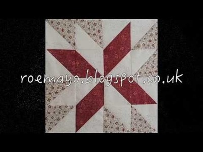 Star Pattern Table Runner Tutorial with Bev Mayo - Video 2