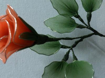 Stocking flower making videos, stocking flower tutorial easy,  rose stocking flower.