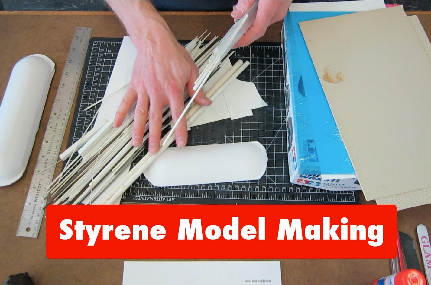 Styrene Tutorial Guide(Part 1): basic intro to plastic model making, modeling tips and tricks