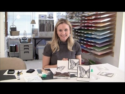Swallowtail Butterfly Video Tutorial - featuring the swallowtail stamp set