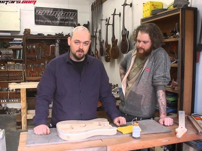 Taking a cheap kit guitar and making it great 12 - Ben & Howard talk finishes