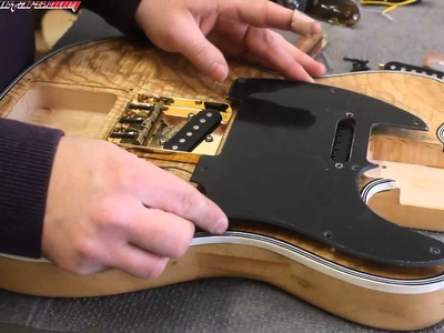 Taking a cheap kit guitar and making it great 14 - Customising the scratchplate