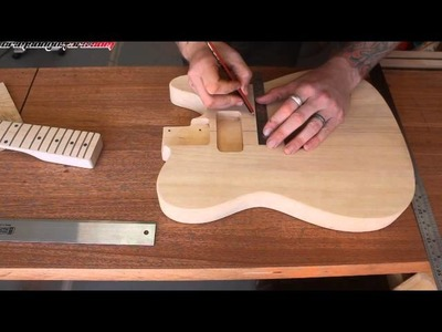 Taking a cheap kit guitar and making it great 2 - A new top