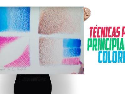 Tutorial Colored pencil Prismacolor Técnicas de Dibujo. Lápices de color - iLustrandoiDeas