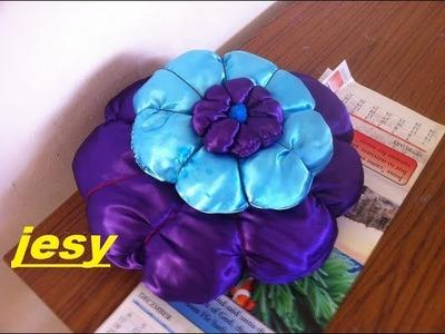3D   flower cushion by JESY.Easy cushion making