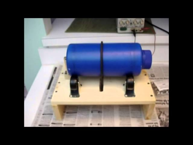 A Super Simple Home-Made Ball Mill or Rock Tumbler