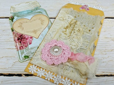 Altered Coin Envelope - DT Project for Rachel's Jazzy Creations