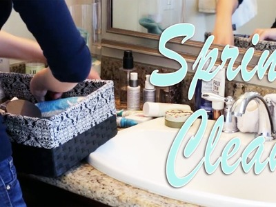 BATHROOM TOUR | Spring Cleaning