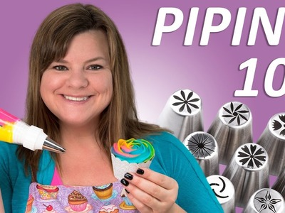 Cake Decorating 102 (Russian Piping Tips, Tools and Tips) Filmed LIVE