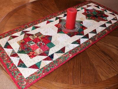 Jordan Fabrics Rail Fence Table Runner Tutorial My Crafts