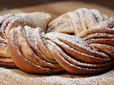 Cinnamon Sugar Butter Braid