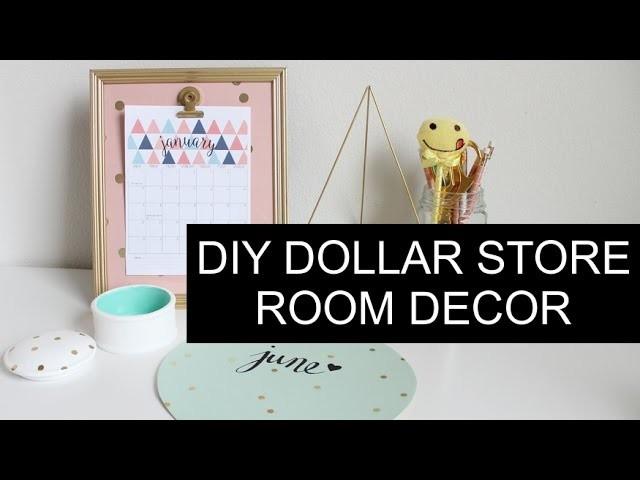 DIY Dollar Tree Room Decor | Tumblr Inspired