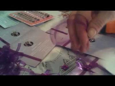 DIY Invitation Card Decorating April 9, 2013 18:18