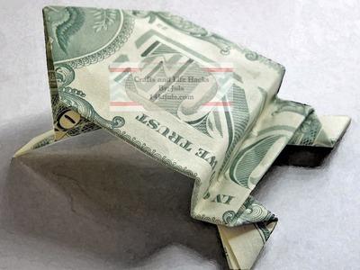 Dollar Bill Jumping Frog Tutorial