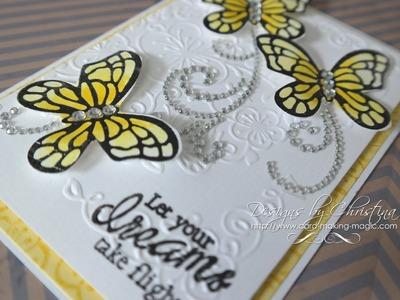 Floral Flutter Dies & Stamps Card 2