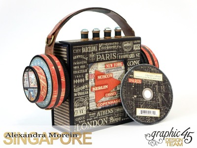 G45 Cityscapes - CD Player and Holder + Tutorial