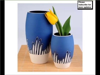 Handmade Contemporary Ceramic Vases | Home Decor Picture Ideas With Lovely Ceramic Arts