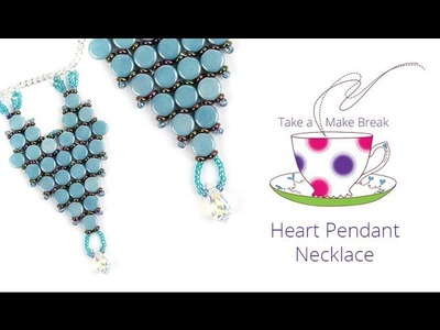 Heart Pendant Necklace | Take a Make Break with Debbie