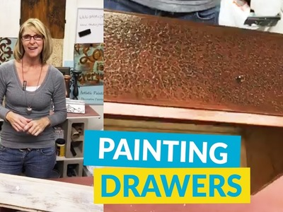 Learn A New Painting Technique To Update Your Furniture!