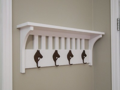 Mission Style Coat Rack - 227