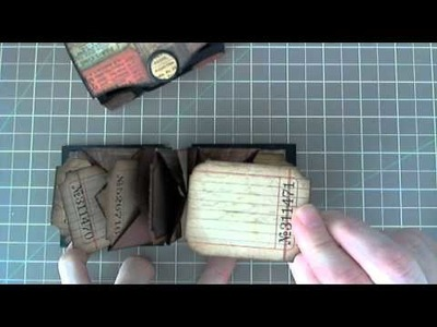 MPD-Tim Holtz Meets Laura From Following The Paper Trail Mini in a Box
