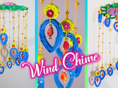 Newspaper wall Hanging | Newspaper wind chime | best out of waste | Artkala
