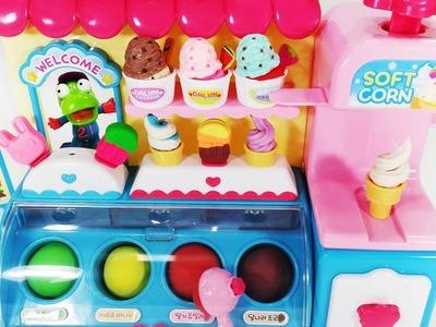 Play Doh Ice Cream Food  Playset Toys