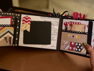 *Project Share* Simple Stories Say Cheese! interactive pocket page mini album