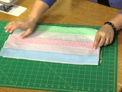 Quilting Quickly - Baby Checks Easy Baby Quilt Pattern