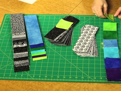 Quilting Quickly - Cerulean Throw Quilt