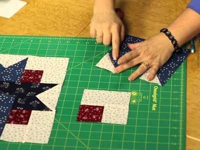 Quilting Quickly - Four Patch Star Quilt