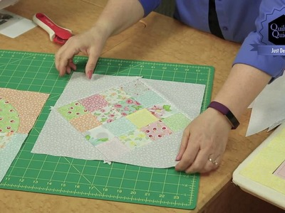 Quilting Quickly: Just Desserts - Throw Quilt Pattern