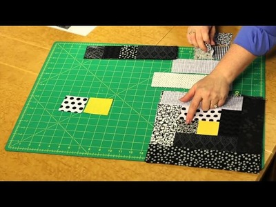Quilting Quickly: Light in the Window - Log Cabin Quilt Pattern