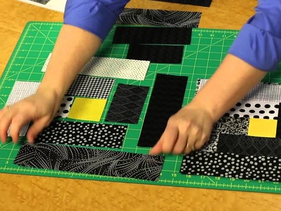 Quilting Quickly - Light In The Window Log Cabin Block Quilt