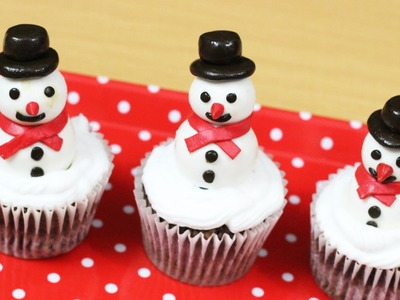 Snowman Cupcakes - Christmas Special