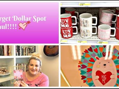 Target Haul | Dollar Spot Haul and Come Shop With Me!!! | Valentine's 2017