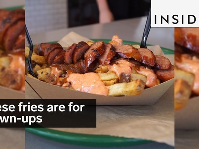 """These are """"animal-style"""" fries. for grown-ups"""