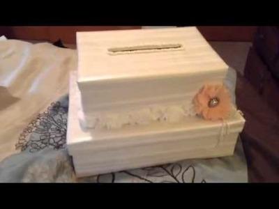 Wedding card box take 2