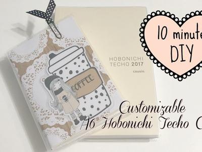 10 Minute Customizable A6 Hobonichi Cover DIY