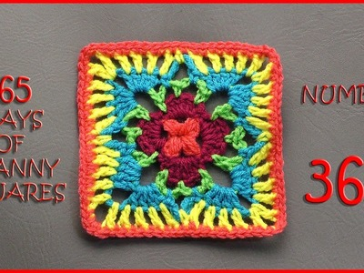 365 Days of Granny Squares Number 362